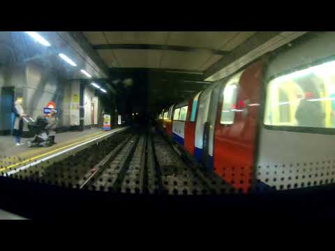 Cab Ride Jubilee Line Stanmore to Stratford all stations