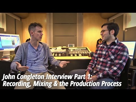 John Congleton (St. Vincent, The Walkmen) – Part 1: Recording, Mixing & the Production Process