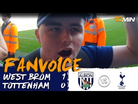 West Brom 1-0 Tottenham | Late Livermore goal saves West Brom from relegation with 1-0 win v Spurs!