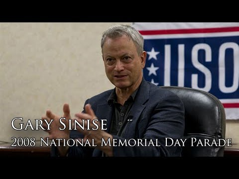 Gary Sinise Memorial Day Shout Out to the...