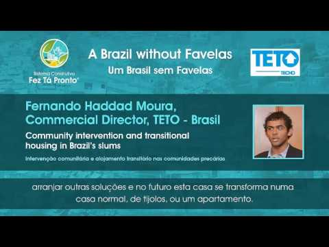 A Brazil without Favelas - Interview with TETO´s Fernando Haddad Moura