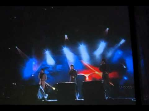 110625 [Fancam] Super Junior M - Words of the Westerly Wind @ MTVEXIT Concert in Chiang Mai