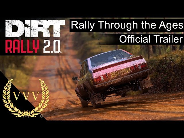 Dirt Rally 2.0 Rally Through the Ages Trailer