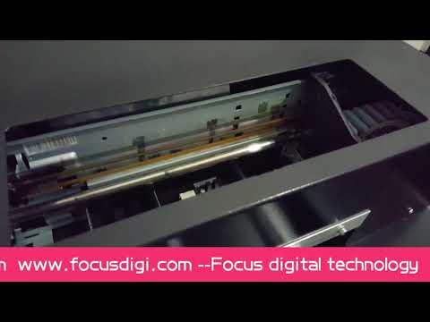 Focus A4 size cookie printer edible food printing machine