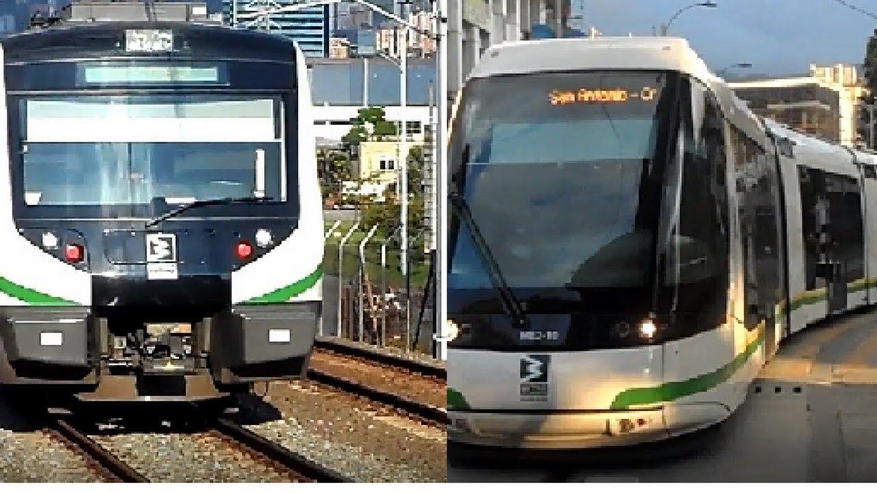 viaje en el Metro de Medellin y tranvía de Ayacucho 2018 #1