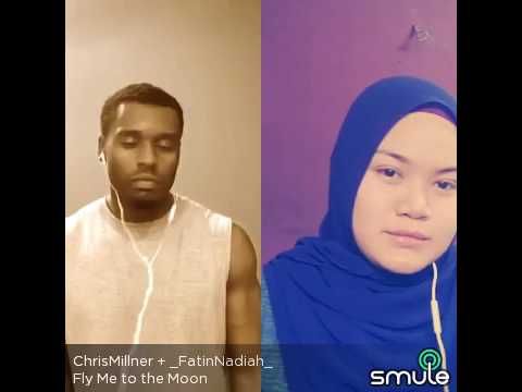 Fly me to the moon cover by fatin & chris
