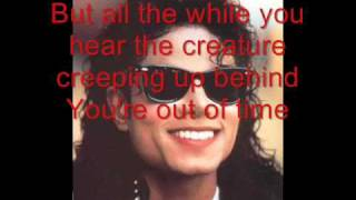 Michael Jackson - Thriller Lyrics