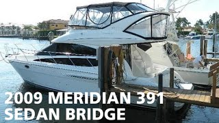 2009 Meridian 391 Sedan Bridge For Sale At Marinemax Pompano