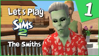 Let's Play The Sims 2 - The Smiths #1 - Starting With A Birthday