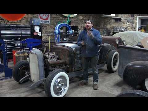 How To Fill The Gas Cap On Ford Model A- Sweet Heart Roadster - Ep. 33