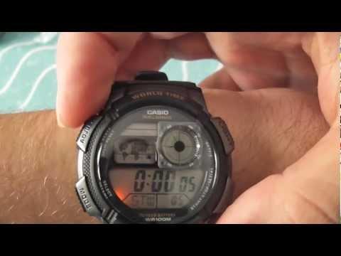 CASIO AE-1000W-1AV watch