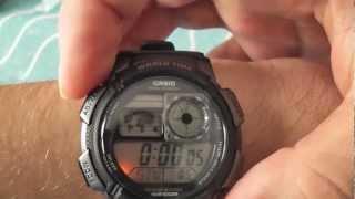 Jam Tangan Casio Original Pria AE-1000W-1A