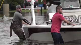 Many grateful for the Cajun Navy's rescue efforts