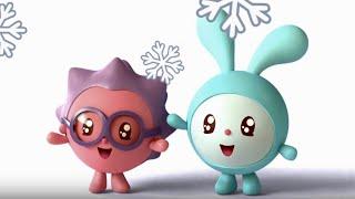 Малышарики - Ёлка -  эпизод 9 - обучающие мультфильмы для малышей 0-4