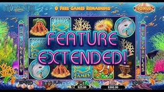 Megaquarium Online Slot by RTG - Multiple Free Games!