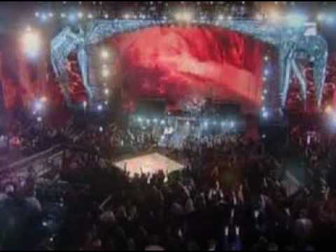 alice cooper feat. rob zombie and slash, schools out, live scream awards 2007