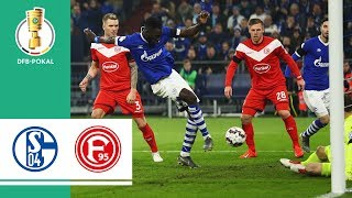 FC Schalke 04 vs. Fortuna Dusseldorf 4-1 | Highlights | DFB Cup 2018/19 | Round of 16