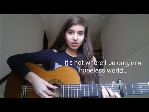 """I wrote a song about me...""""Where I Belong"""""""