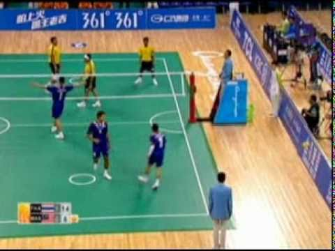 Sepak Takraw(Men's Team A+B) @2010 Asian Games - Thailand vs Malaysia (Gold Medal Match) 5/7