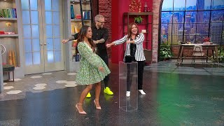 "Watch Christina Milian Salsa Dance + Do ""The Floss"" With Rachael and Bob Harper!"