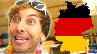 Sandra in der Schule - Deutschland!