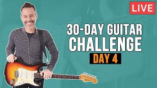 30 Day Guitar Challenge - Day 4 (LIVE + Q&A)