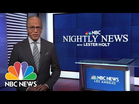 Download Nightly News Full Broadcast - October 21st