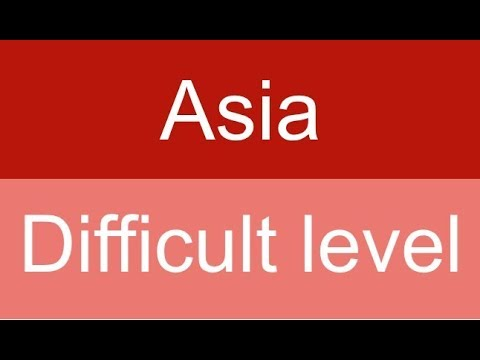 Countries and capitals quiz - Asia - Level: Difficult