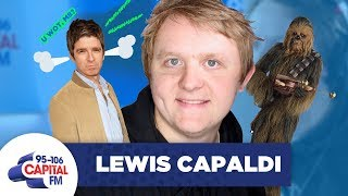 Lewis Capaldi Responds To The Beef With Noel Gallagher 😵   FULL INTERVIEW   Capital