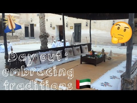 Incredible Heritage Village in Dubai || DXB Vlog #2