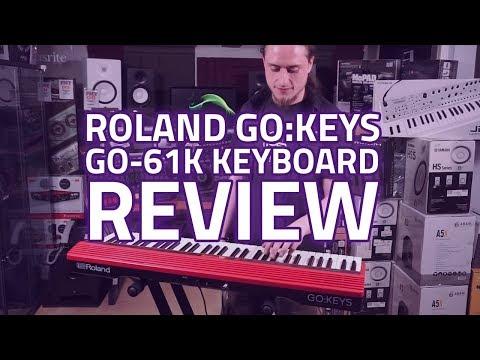 Roland GO:Keys GO-61K Digital Keyboard Demo & Review