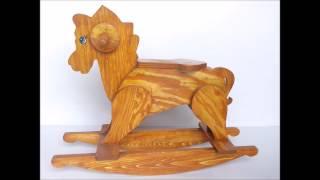 Lakdi Ki Kathi/ Masoom/Wooden Rocking Horse Toy