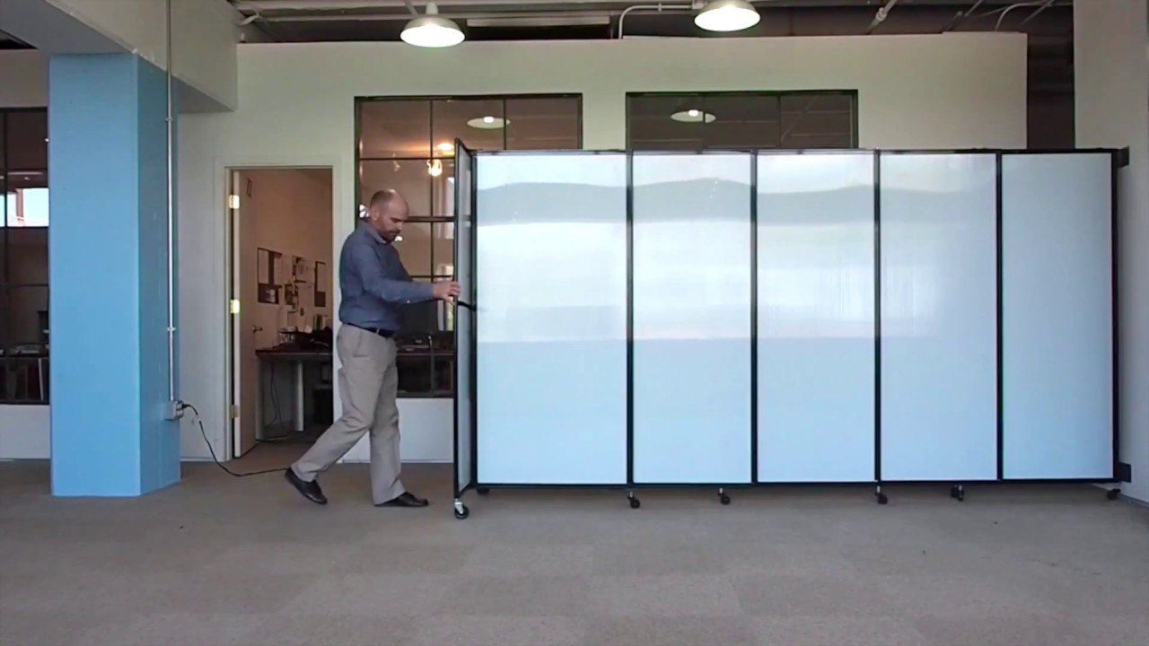 sliding room dividers creating space in seconds with versare s straightwall 11173