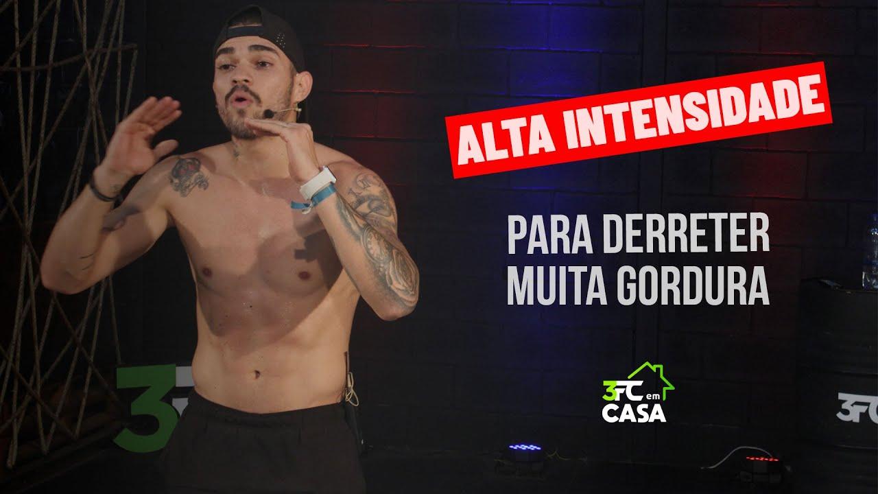 Download Alta Intensidade para Queimar MUITA Gordura   3FC em CASA