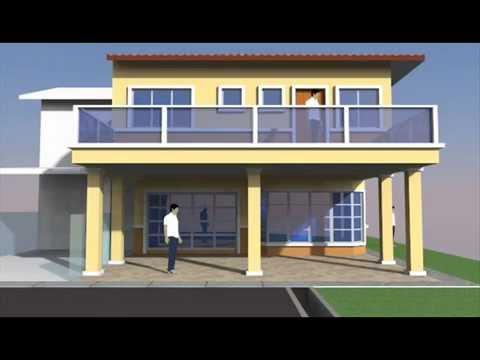 Rekabentuk Ubahsuai Rumah 2 Tingkat Jenis End-lot di Seksyen 19 Shah Alam - YouTube