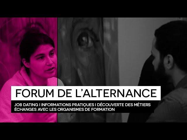 [REPORTAGE] Retour en images : FORUM DE L'ALTERNANCE