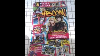 #BOOM Magazin Unboxing Limited Karten Road to Uefa Euro 2016 Booster öffnen opening