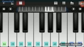 How to play udi appa po po song on piano