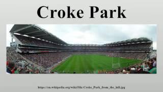Gambar cover Croke Park