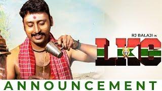 LKG: RJ Balaji's Big Announcement for an Announcement!