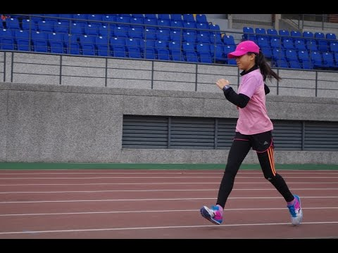 Speed training for racewalking