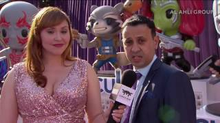 Comicave Studios' Abdulla Mahmood at Marvel Studios' Guardians of the Galaxy Vol. 2 Red Carpet