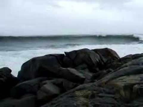 Big Waves at Western Head, Nova Scotia Oct 29 2006