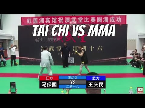 Tai Chi Master Who Ran Away From Xu Xiaodong Fights MMA Hobbyist