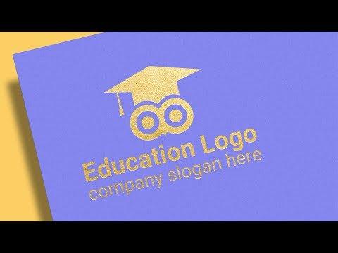 Education Logo Design Illustrator Tutorial   Logo Design thumbnail