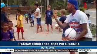 Video Kunjungi Sumba, David Beckham Hibur Anak-anak download MP3, 3GP, MP4, WEBM, AVI, FLV Agustus 2018