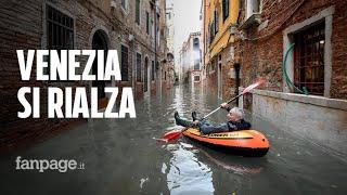 """Venezia la marea si ferma a 150 cm Il sindaco """" Ci rialzeremo"""""""
