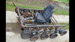 Homemade 300cc TANK / PART 6 ( Brake, Seat )