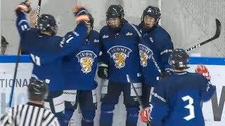 U16: Suomi kukisti Saksan kolmen ottelun sarjan avauspelissä – Maalikooste (17.10.2019)