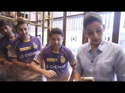 Knights visit Fabelle at ITC Hotels | VIVO IPL 2017
